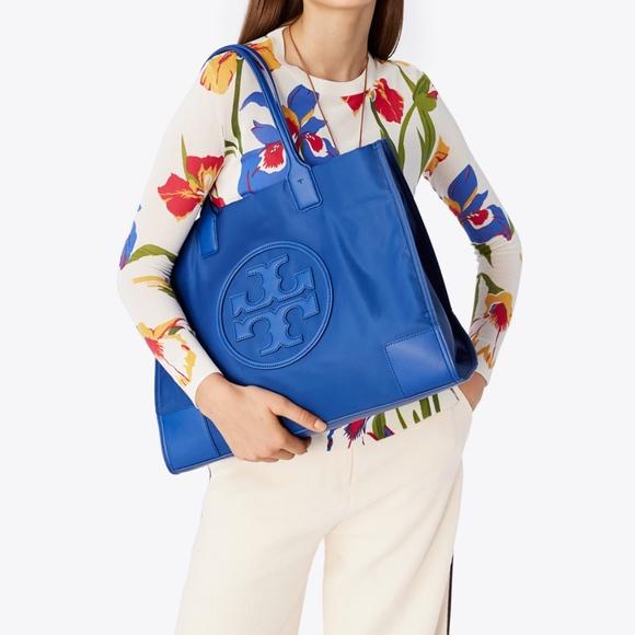 Tory Burch Handbags - NWT! TORY BURCH Ella ~Regal Blue~ Tote